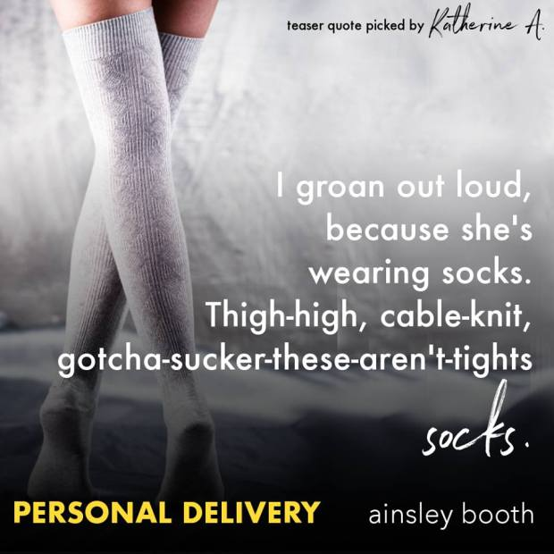 Personal Delivery teaser socks