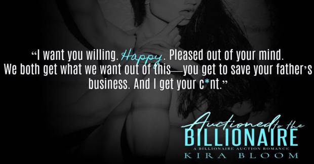 Auctioned Billionaire Happy teaser