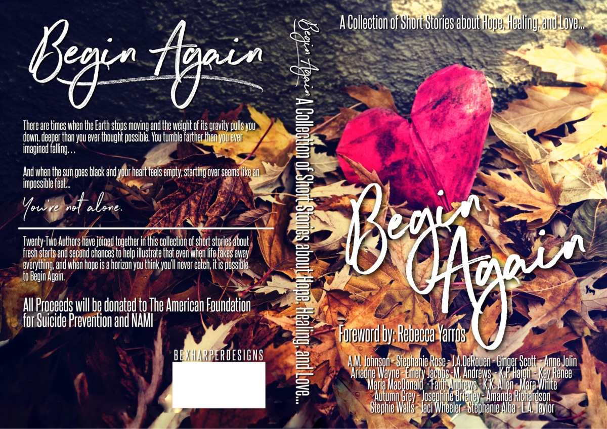 Begin Again Anthology Review Stephie walls, k.k. Allen and Autumn Grey.